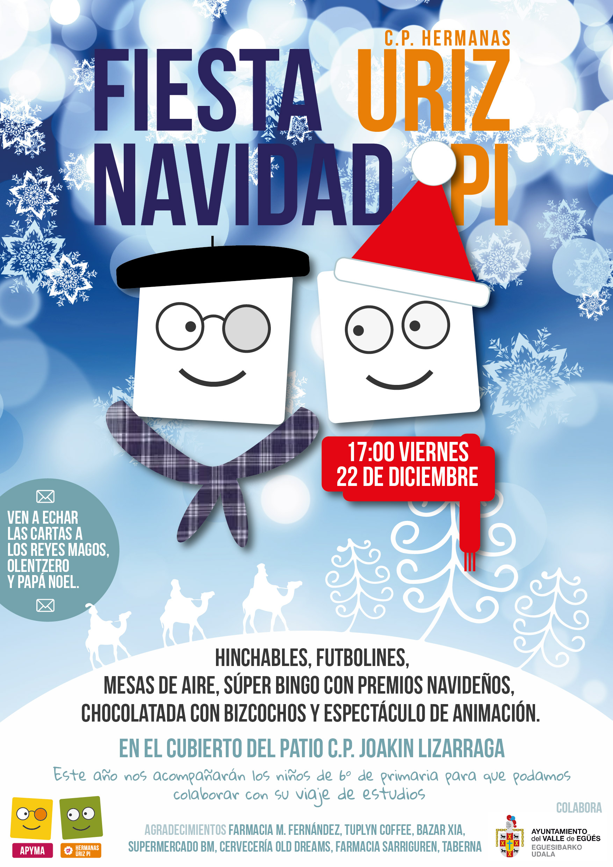Cartel Fiesta Navidad 2017